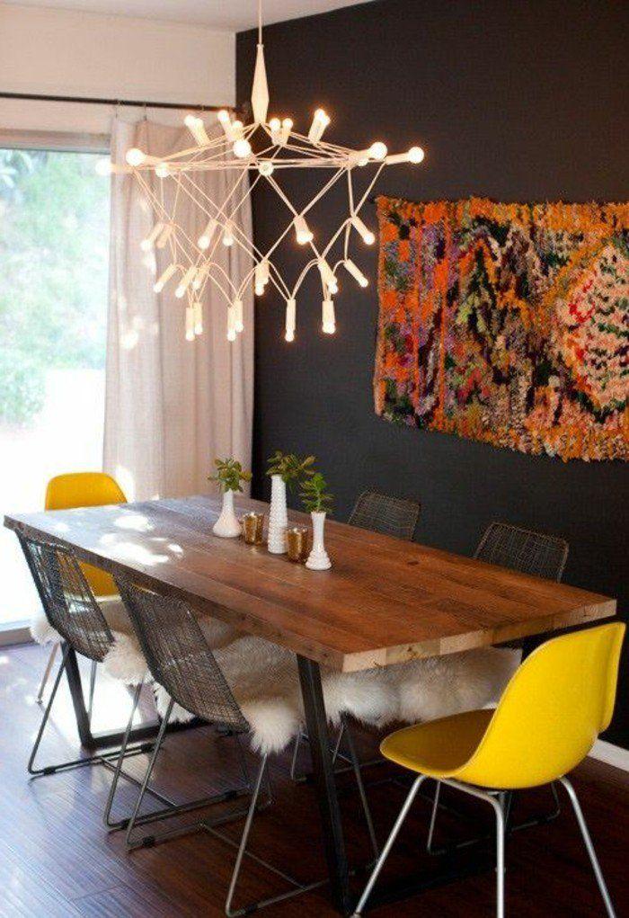 Quelle Déco Salle à Manger Choisir Idées En Photos Chaises - Table billard salle a manger pour idees de deco de cuisine