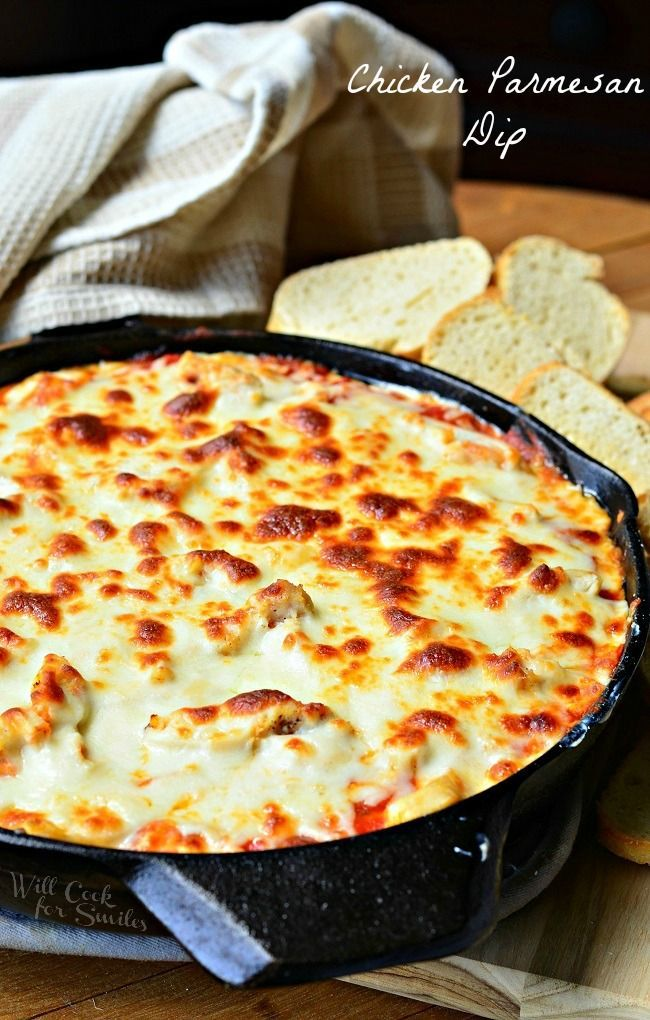 Chicken Parmesan Dip Recipe  Will Cook For Smiles