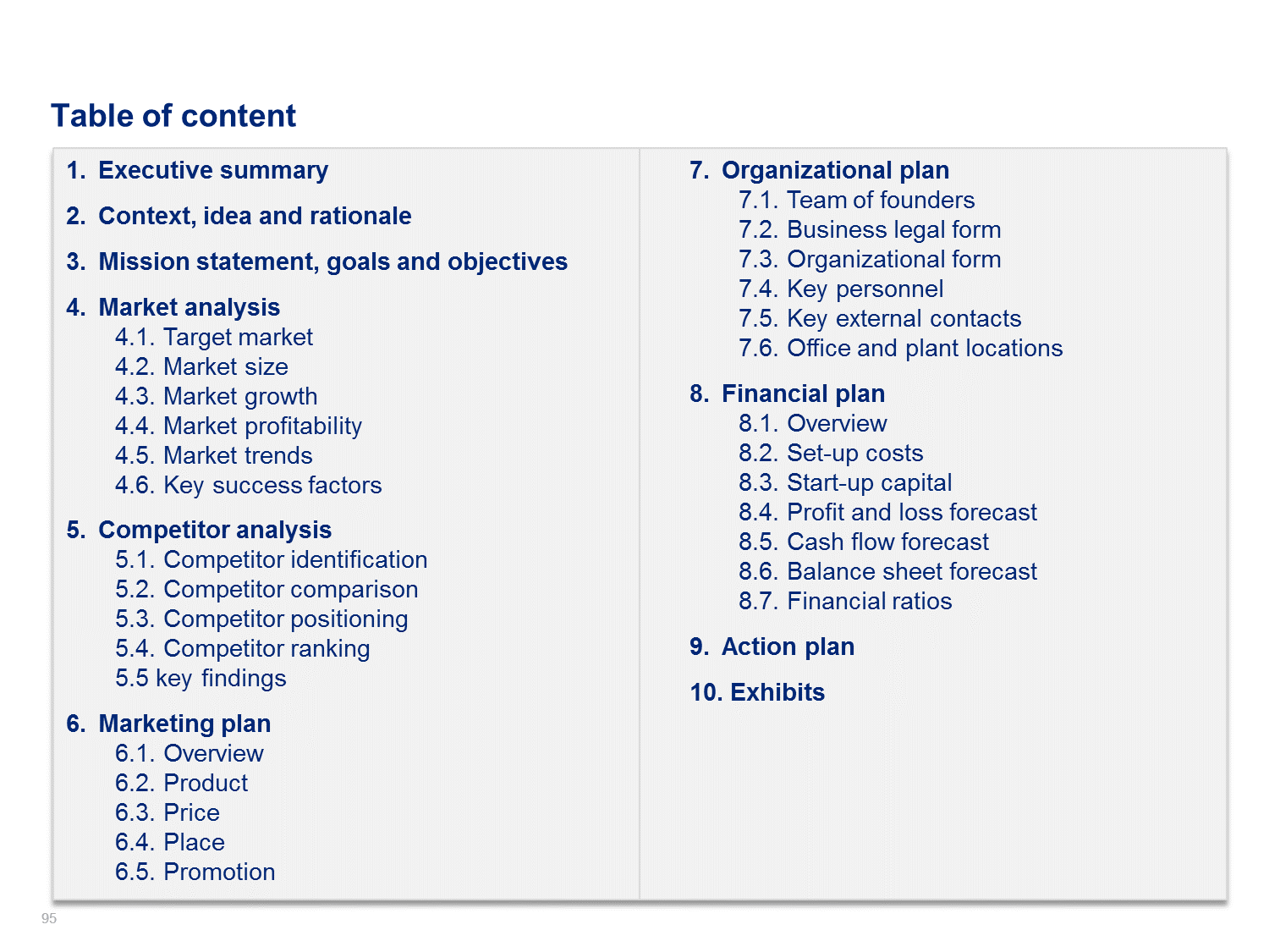 Business Plan Examples Simple Business Plan Template By