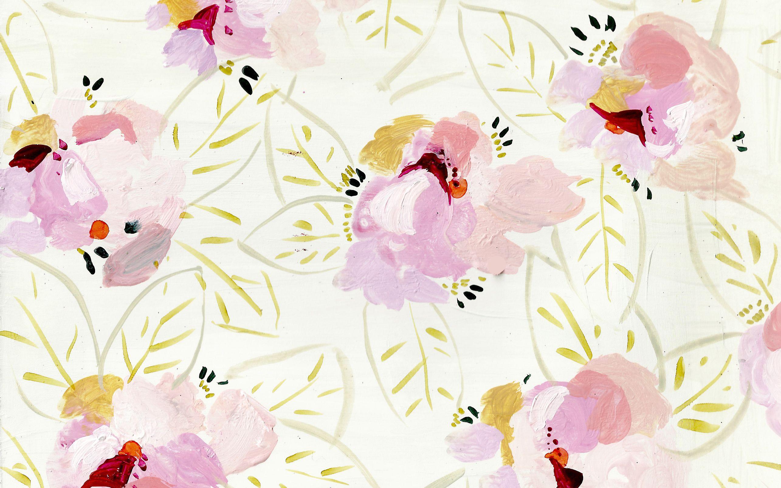 Tropicalflowers2 Jpg 2 570 1 608 Pixels Kate Spade Wallpaper Pattern Art Prints