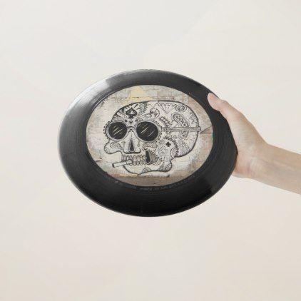 #Skull Frisbee - #Halloween #happyhalloween #festival #party #holiday