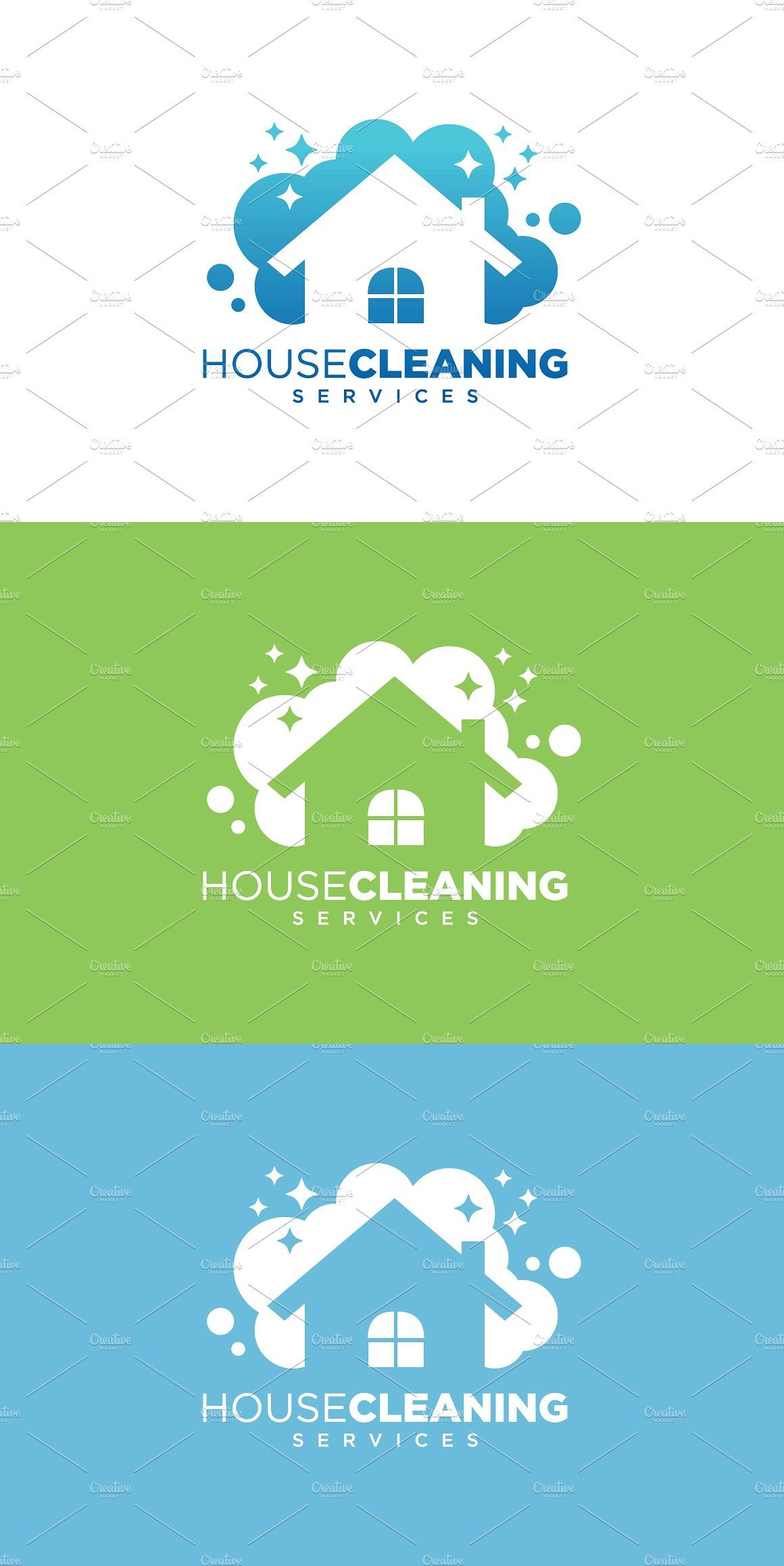 House Cleaning Service Business Cleaning business cards