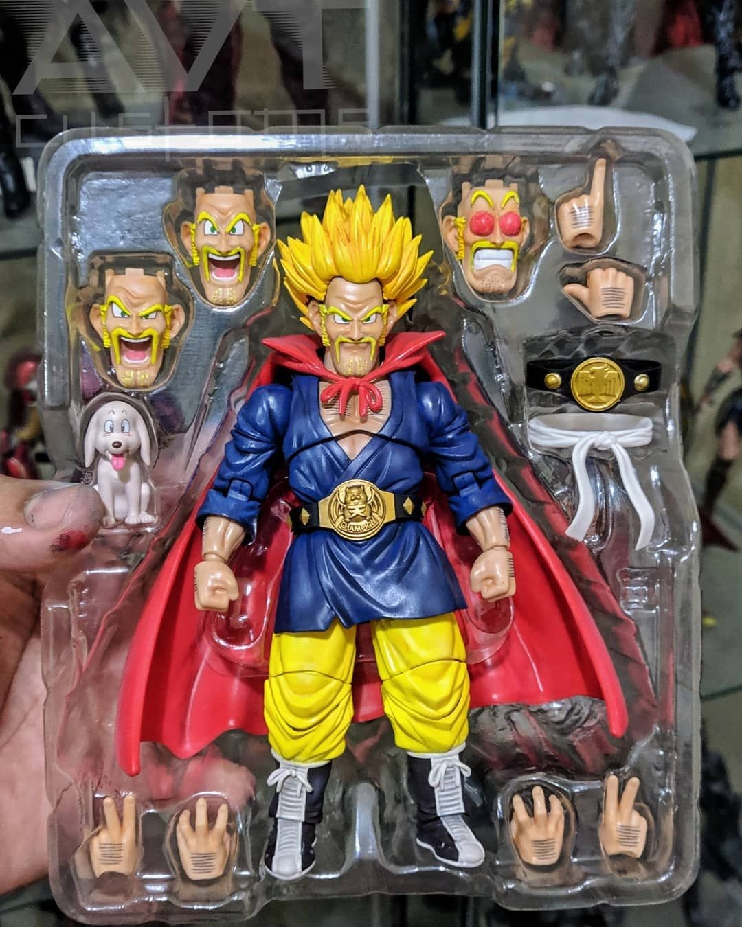 Satan Hercule SHF Figuarts Bandai Dragon Ball Z Mr