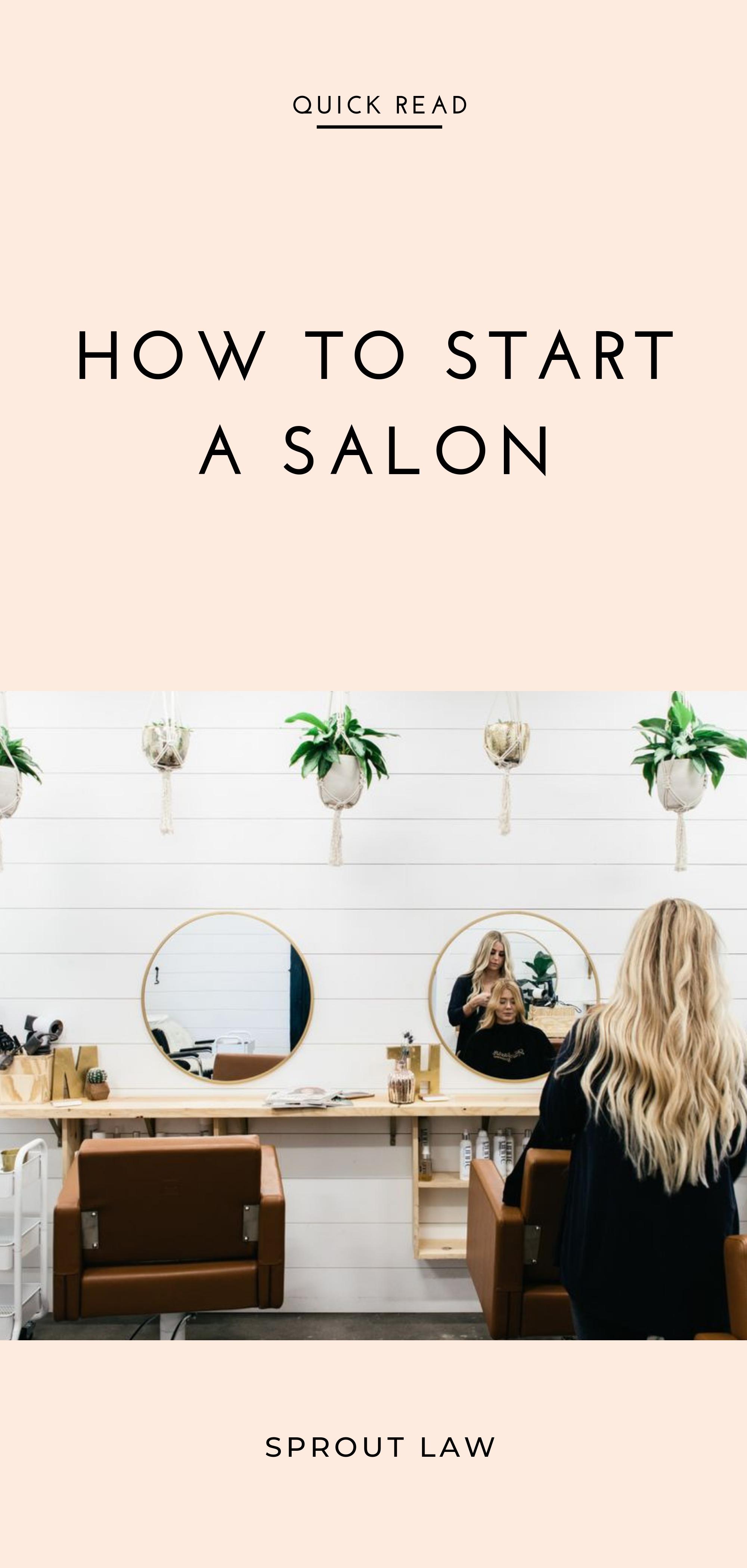 How to Start a Beauty Salon Beauty salon, Salons, Beauty