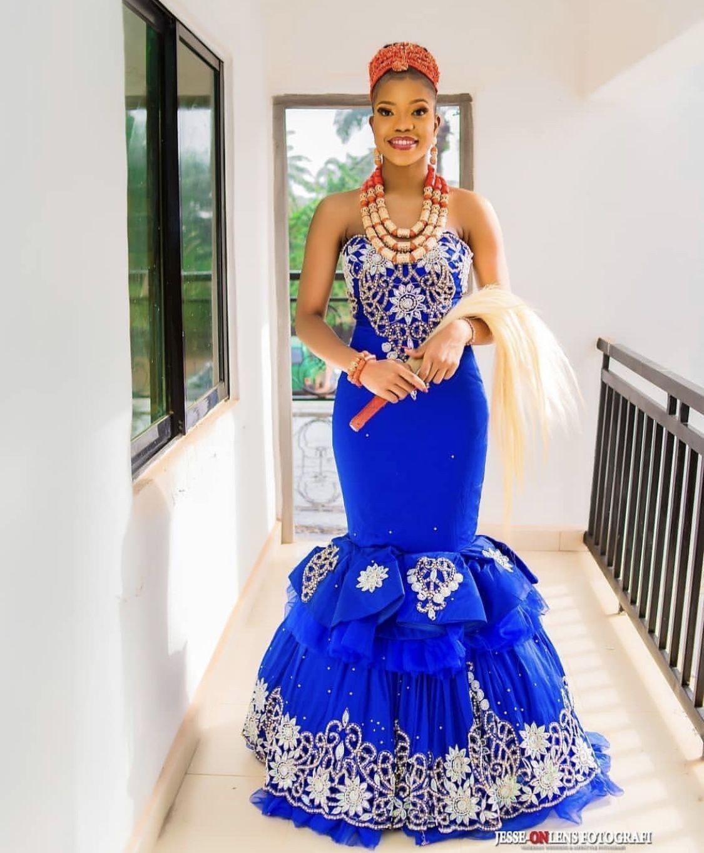 Pin By Faith On Weddings Nigerian Wedding Dresses Traditional African Traditional Wedding Traditional Wedding Attire