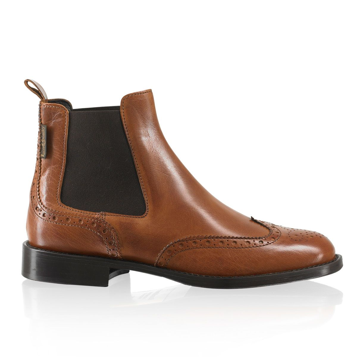 Cadogan brogue chelsea russell bromley shoes for Stiefel schuhschrank