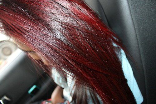 1000 images about couleur cheveux on pinterest coiffures coupe and violet hair - Coloration Cheveux Framboise