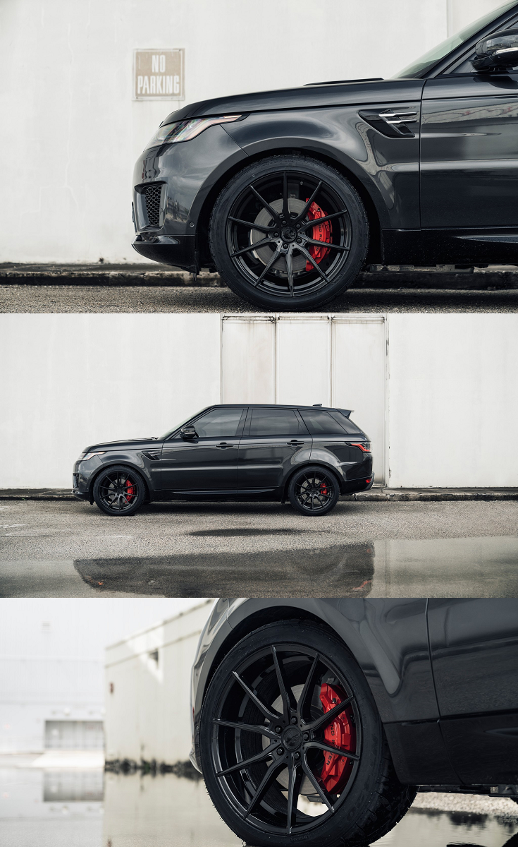 Unexpected Touches That Bring Range Rover Sport To New Level Range Rover Sport Range Rover Wheels Avant Garde Wheels