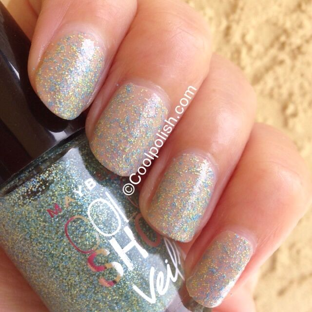 Maybelline Color Show Veils - Teal Beam | My Nail Polish Collection ...