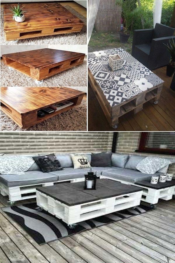 Cheap Pallet Furniture | Pallet Corner Couch | Pallet Garden
