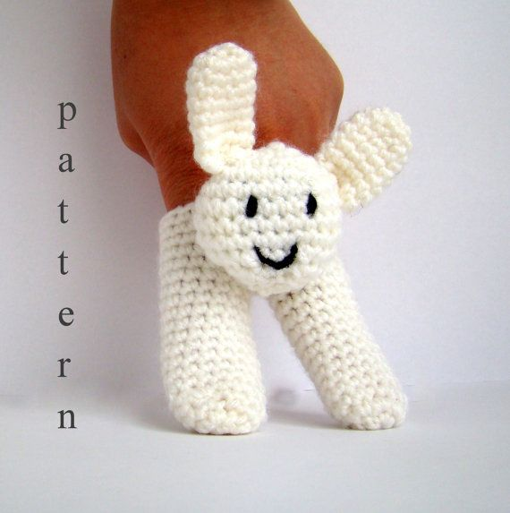 Two Finger Amigurumi Puppets Pattern crochet pattern amigurumi how ...