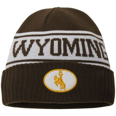 e6213ac7460 November #7 Seller Men's Nike Brown Wyoming Cowboys Sideline Knit Beanie  #GoWyo