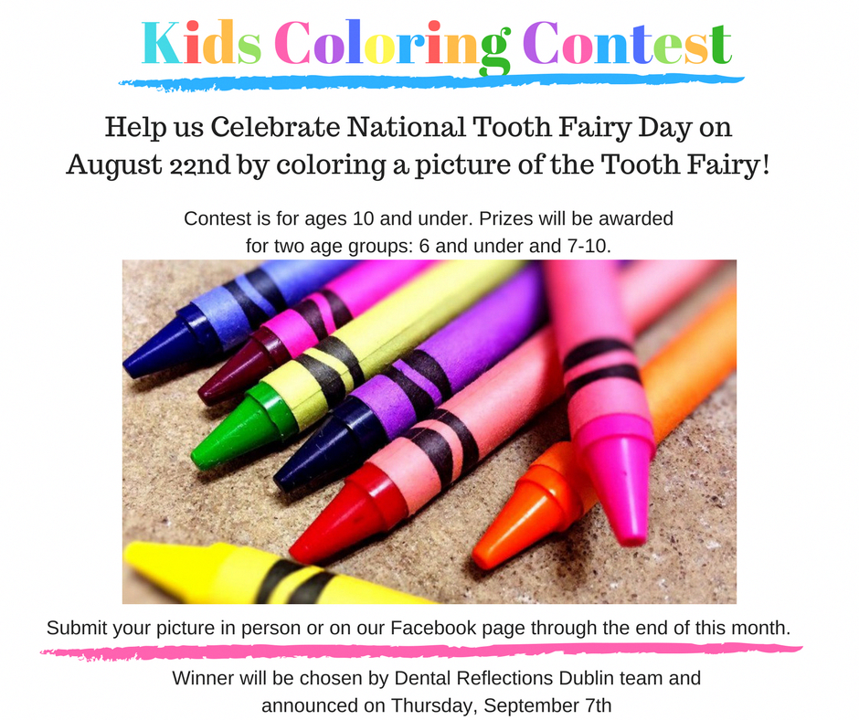 Coloring Contest For Dental Office Dentalhygienistcup Dental Marketing Dental Office Marketing Pediatric Dental Office