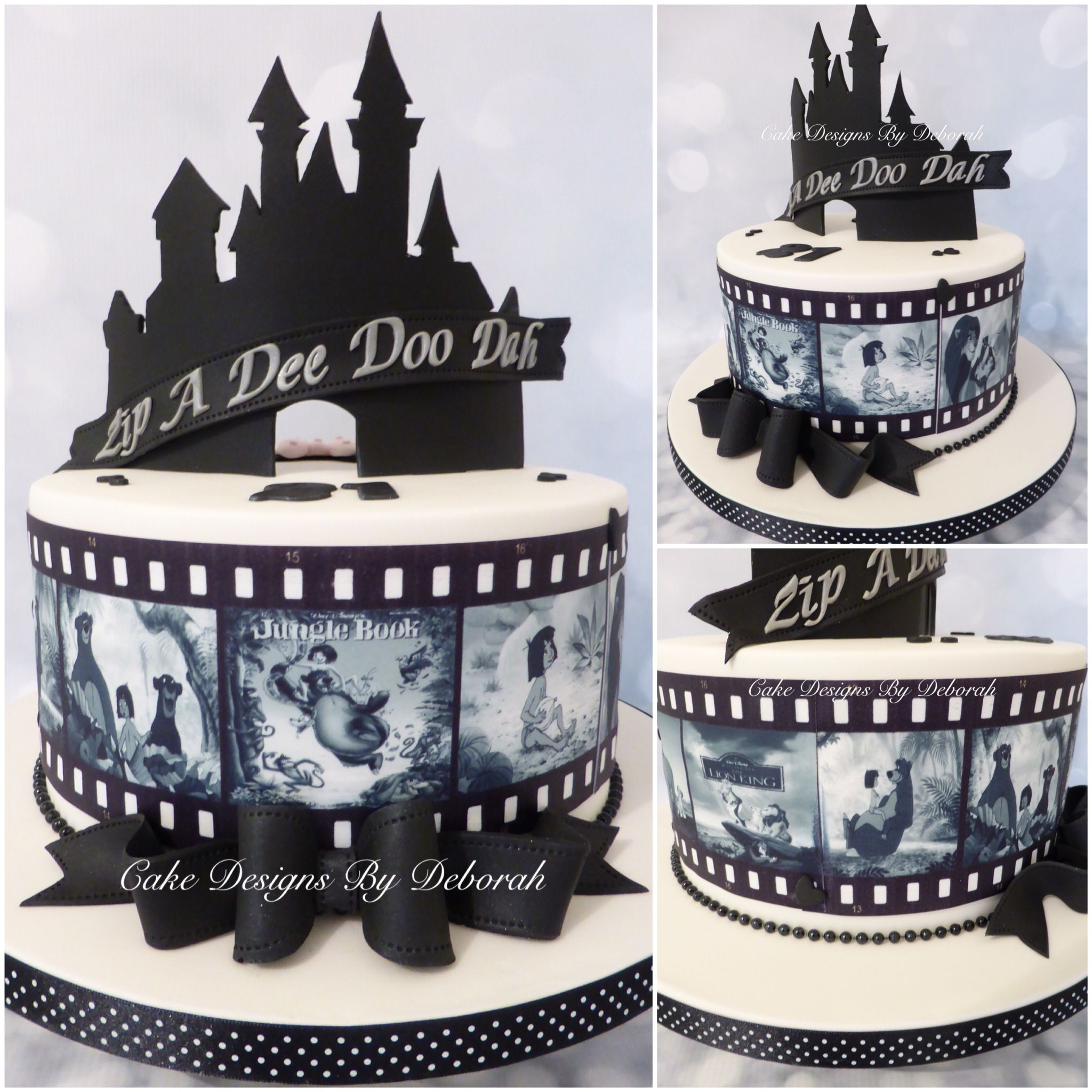 Disney Silhouette Cake 21st Birthday Cake Designs By