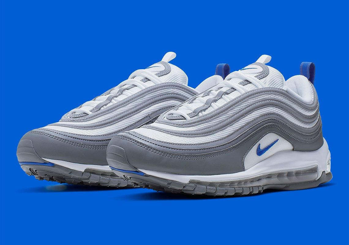 Nike Air Max 97 Appears In Hyper Royal And Cool Grey in 2019