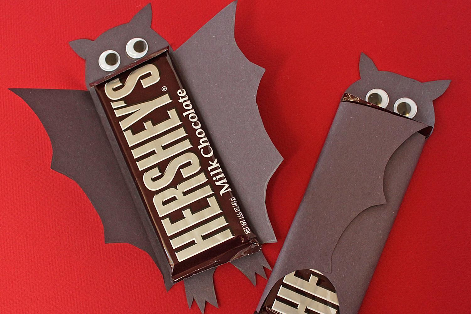 Bat Chocolate Bars Are A Fun And Easy Way To Turn Your Bought Into Y Black Bats For
