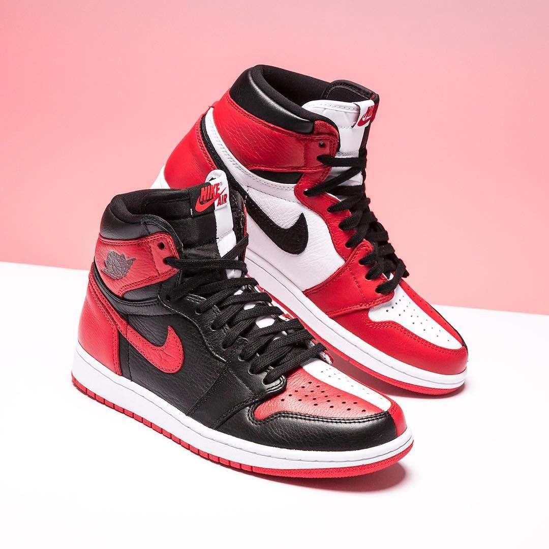 6269b6289b46 Why choose one iconic colorway of the Air Jordan 1 when you can wear two at  once  The Air Jordan 1