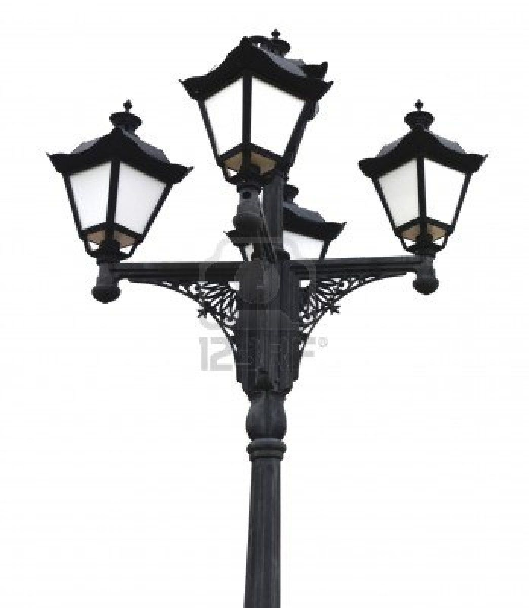 Quaternary Old Fashioned Street Lamp Post Street Lamp Post Lamp Post Street Lamp
