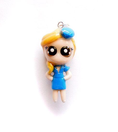 Britney  Miniature Sculpture  Charm by WonderlandContraband, $26.00