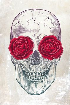 Flowers And Skulls Tumblr Skull flower | Inspiration ...