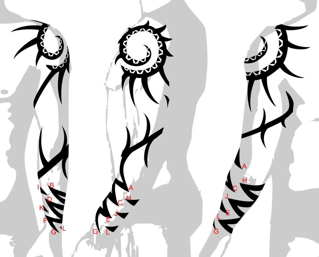 Tattoo design picture - Tribal Tattoo Sleeves Designs Drawings Back To Tribal Arm Sleeve Tattoo Design Ideas