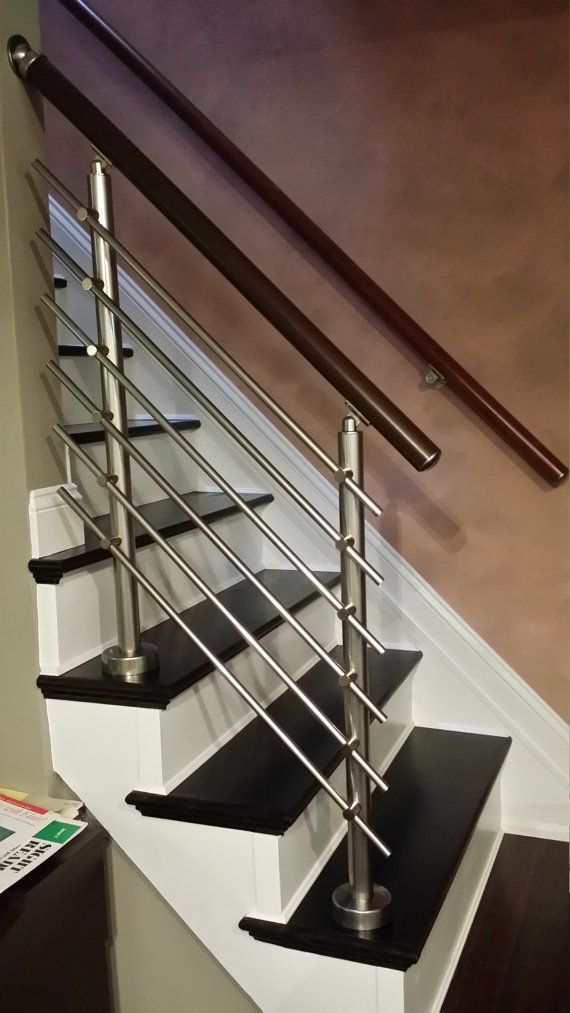 Modern Stairs Balcony Backyard Porch Patio Hand Rail Staircase   Aluminium Railing For Stairs   Hand   House   Indoor   Staircase   3 Foot