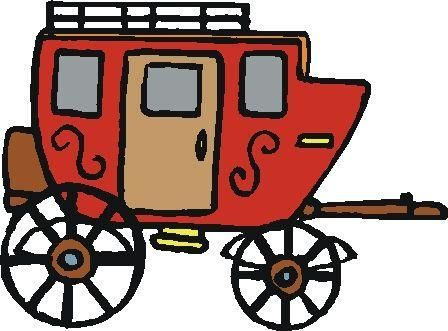 Western Clip Art Stagecoach Clipart Panda Free Clipart