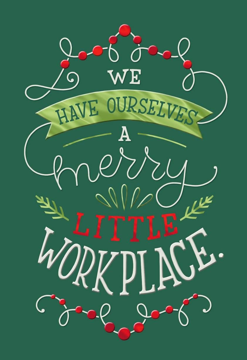 Thank A Boss Or Work Colleague For Making Your Workplace Merry With