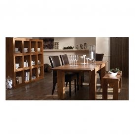 Knowlten dining table wood top dining tables dining for Mobilia kitchen table