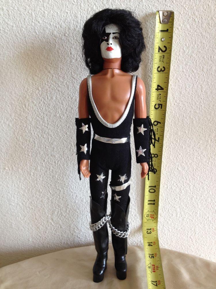 Vintage 1978 Mego Kiss 12 1 2 Paul Stanley Skinny Figure Doll