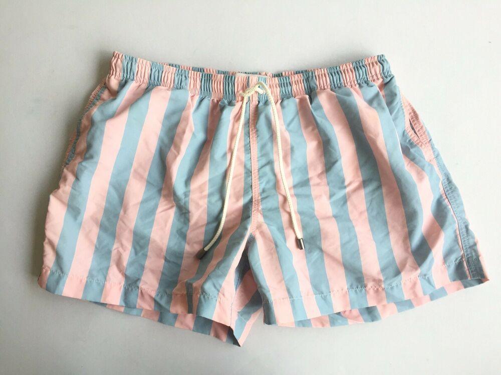 ade9d2bec7 (eBay Sponsored) Solid & Striped The Classic Las Brisas stripe swim shorts  Trunks Pastel