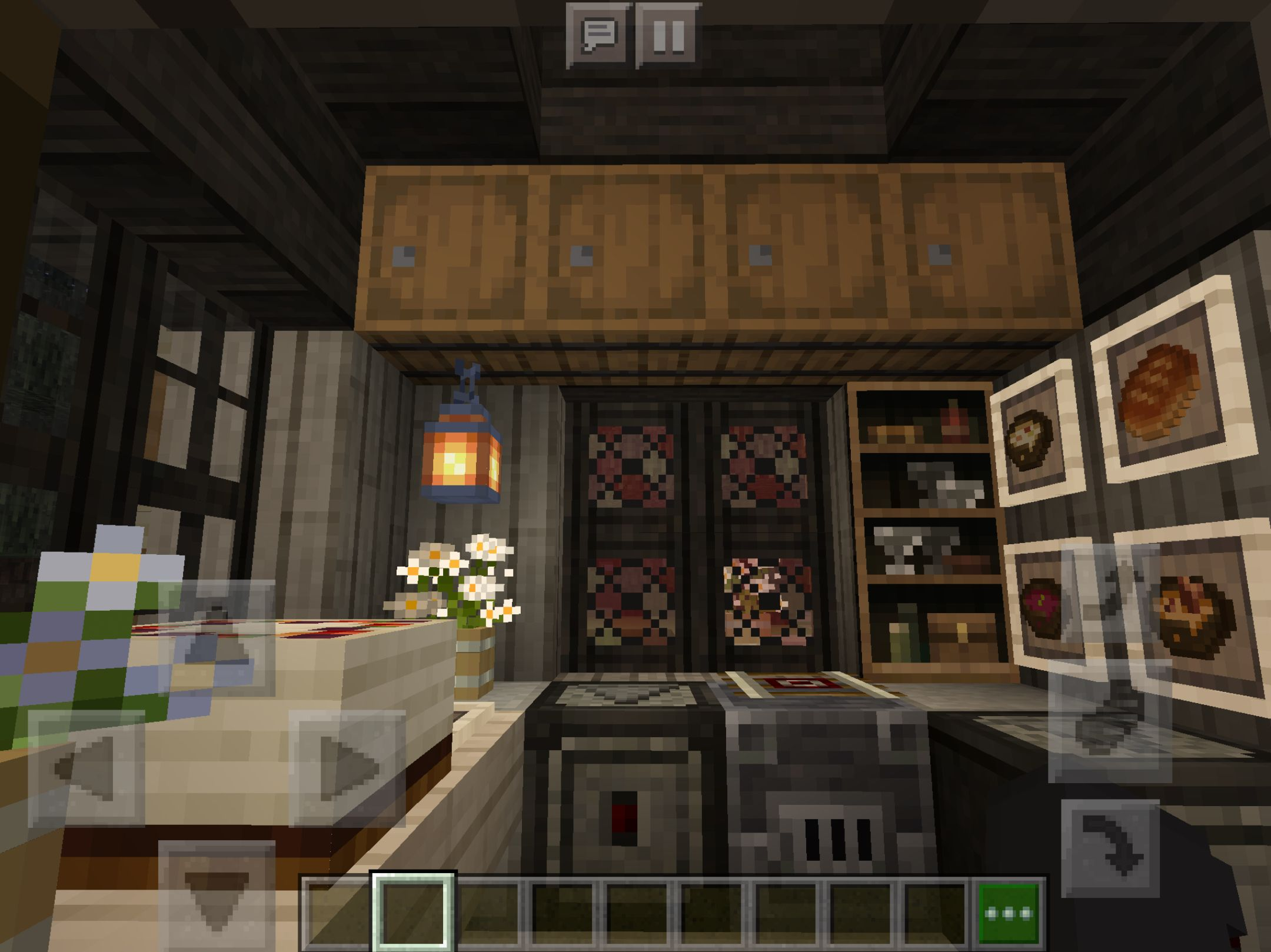 Cottage Core Kitchen Cute Minecraft Houses Minecraft Interior Design Minecraft Mansion