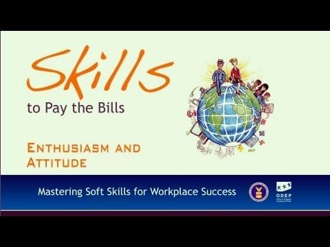 Soft Skills--Enthusiasm And Attitude EMPLOYMENT RESOURCES - life skills trainer sample resume
