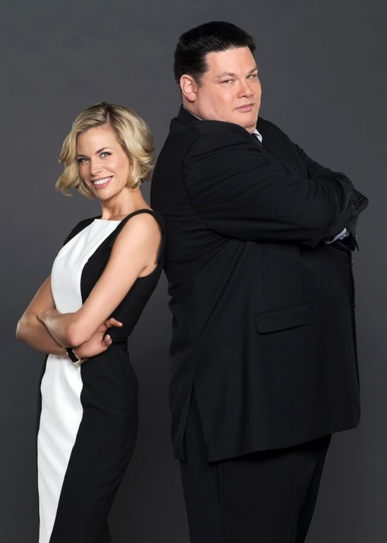 The Chase Brooke Burns And Mark The Beast Labbett Brooke Burns Game Show Television Show