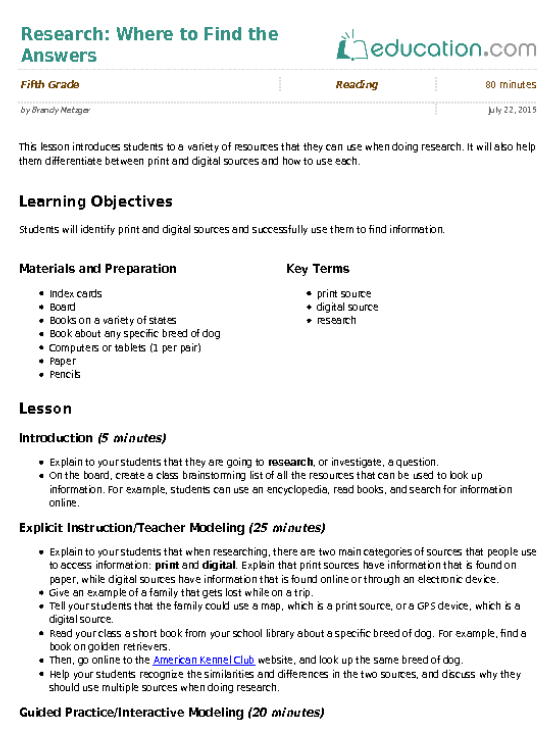 Research Paper Student Notes Template Research Paper Research Writing Science Notes