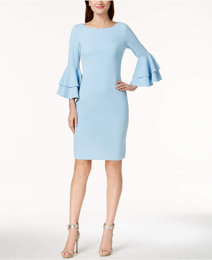 0ade5904dc995e Calvin Klein Tiered-Bell-Sleeve Sheath Dress in 2019 | Products ...