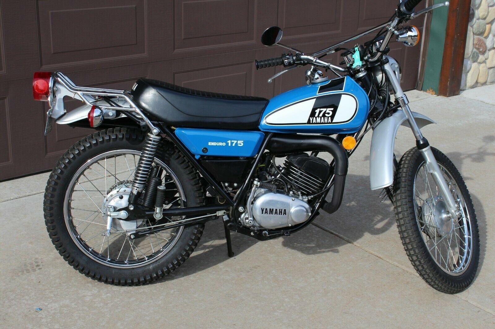 1975 Yamaha Dt 175 Ebay Yamaha Old Bikes Bike
