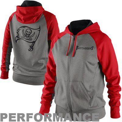 Discount Nike Tampa Bay Buccaneers Ladies Die Hard Full Zip Performance  for cheap