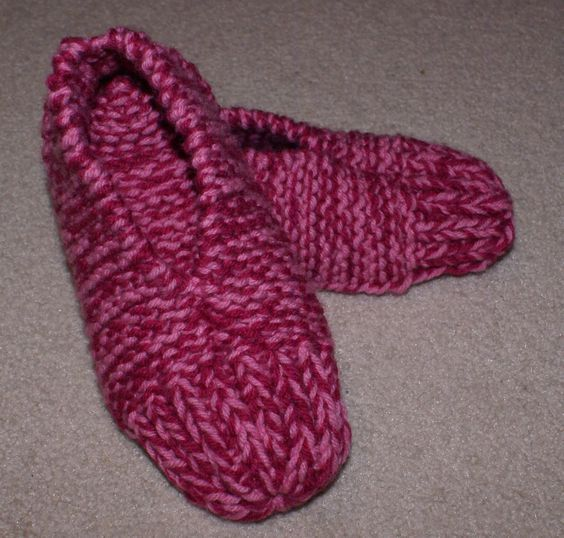 Knit Slippers Pattern Free Easy Wiring Data