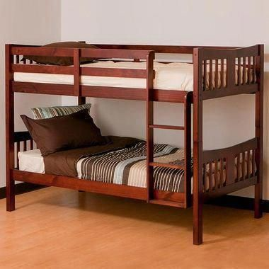 Cherry Caribou Bunk Bed By Storkcraft In 2018 Triple Bunk Beds