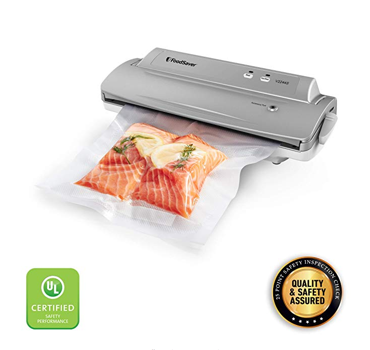 79 99 Usd Foodsaver V2244 Vacuum Sealer Machine For Food Preservation With Bags And Rolls Starter Food Saver Vacuum Sealer Easy Cleaning