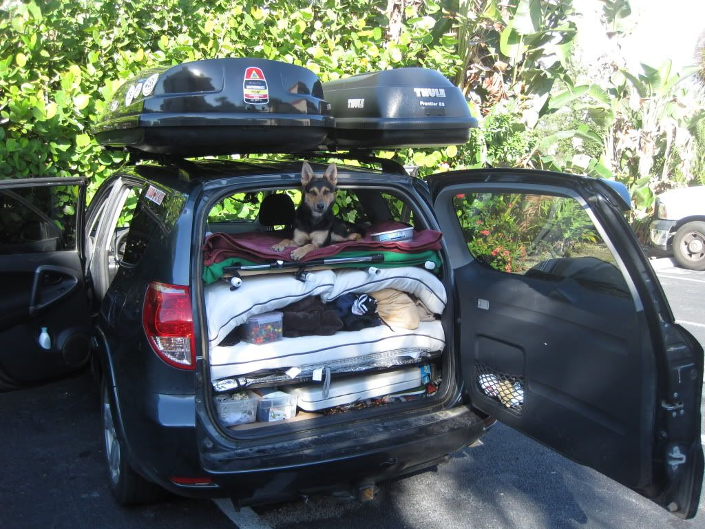 Has anyone built a car bed inside their rav4 for camping toyota rav4 forums