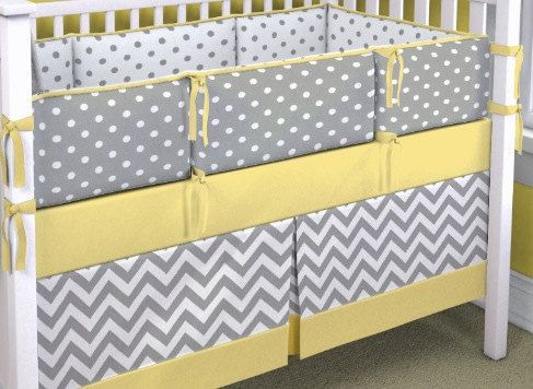 36+ Grey white and yellow nursery bedding trends