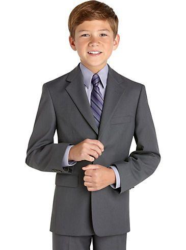 a41a7ed3 Boys - Michael Kors Boys Gray Suit Separates Coat - Men's Wearhouse ...