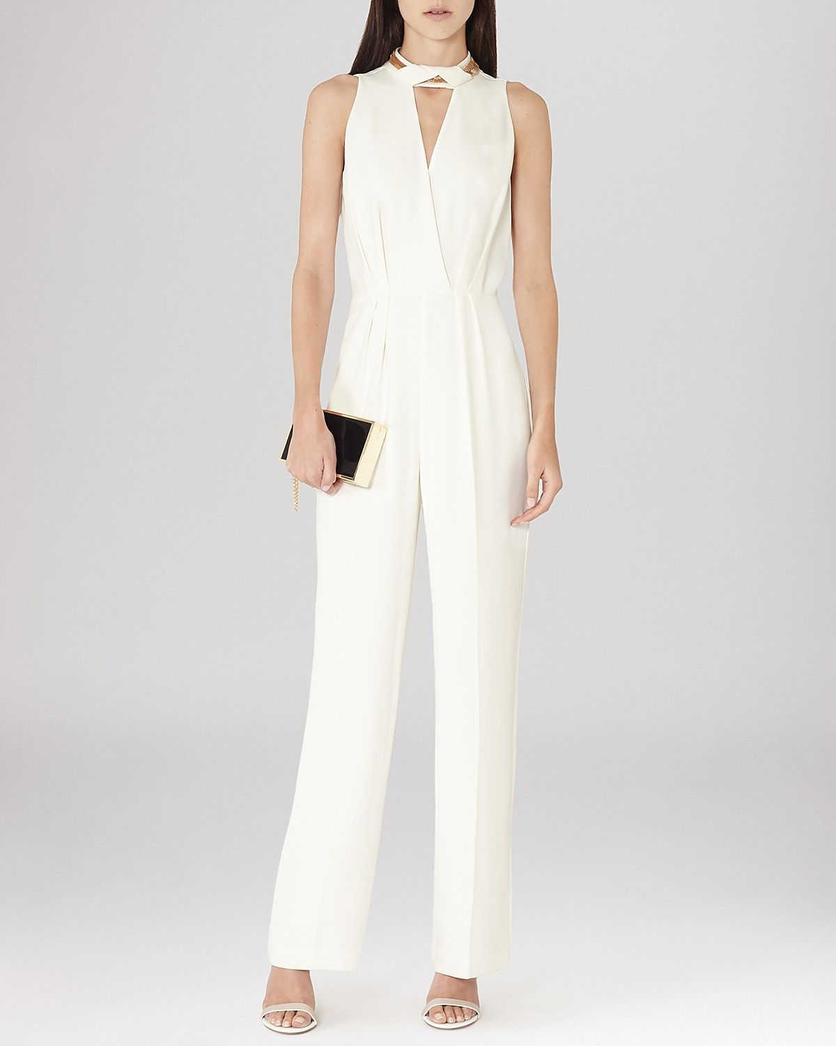 b5ea284a847 REISS Jumpsuit - Kenna Chain Neckline