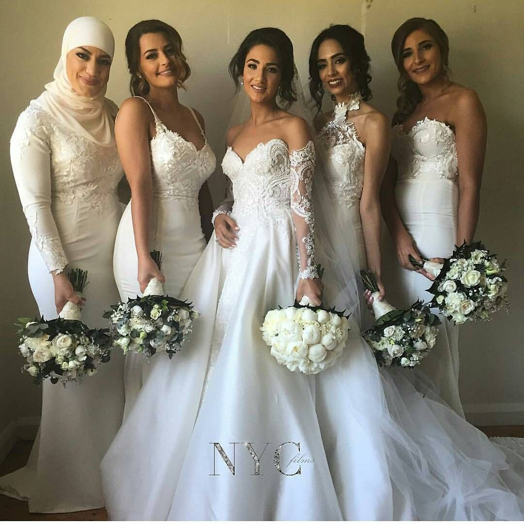 Every detail is a hit bride lamese and her ladies look stunning