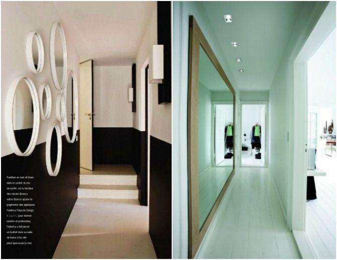 Pasillo espejos decorar pasillo pinterest pasillos - Decorar pasillos con espejos ...