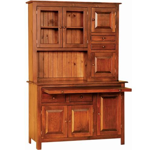 Knotty Pine Kitchen Cabinets For Sale: Hoosier Cabinet, Amish Made