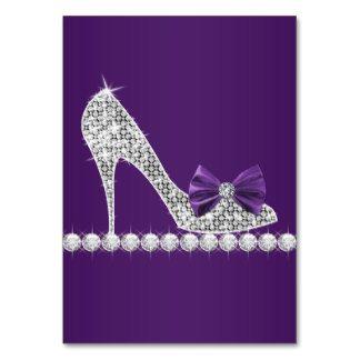 High Heel Shoe Card Template Bing Images Purple High Heels Sweet Sixteen Birthday Shoe Template