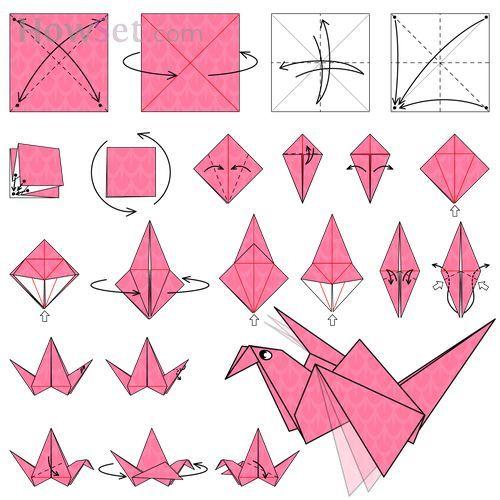 How Do You Fold An Origami Crane